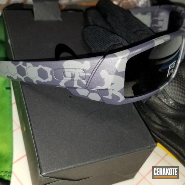 Cerakoted: Sunglasses,Oakley,Graphite Black H-146,Bright Purple H-217,More Than Guns
