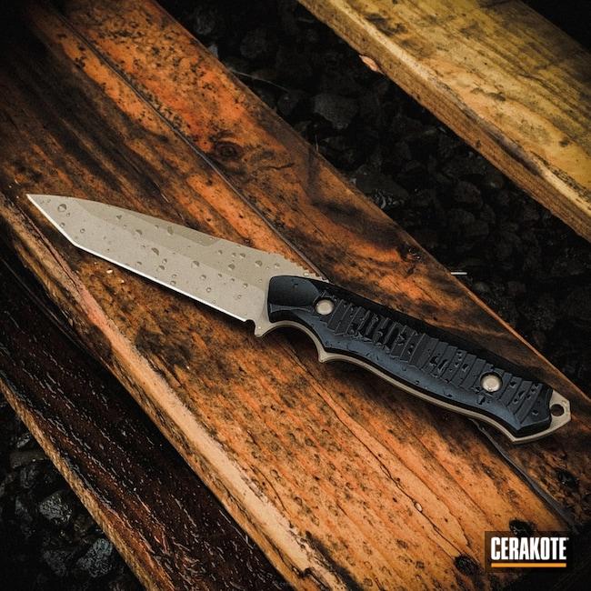 Cerakoted: 20150 E-190,Fixed-Blade Knife,Fixed Blade,More Than Guns,Knives