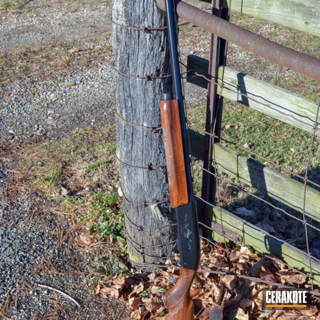 Cerakoted: Shotgun,Gloss Black H-109,Remington,Remington 1100