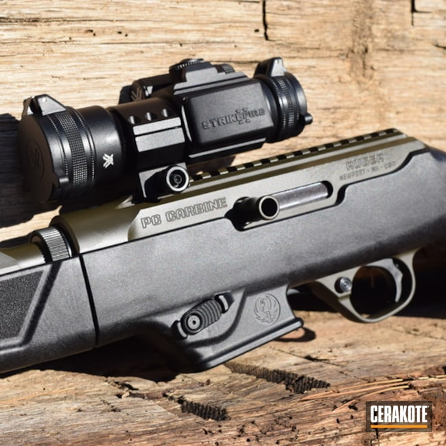 Cerakoted: Rifle,Ruger PC9,Ruger,MAGPUL® O.D. GREEN H-232