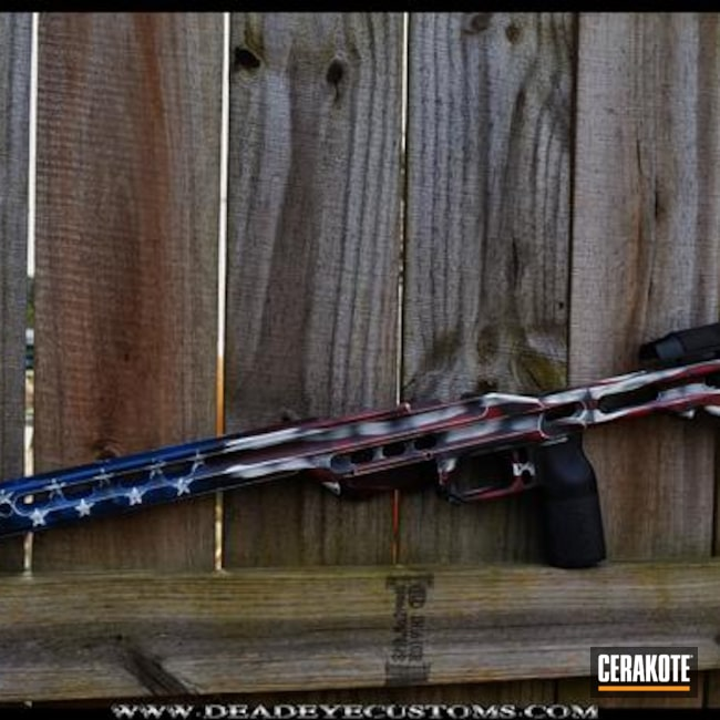 MPA Chassis in an American Flag Finish