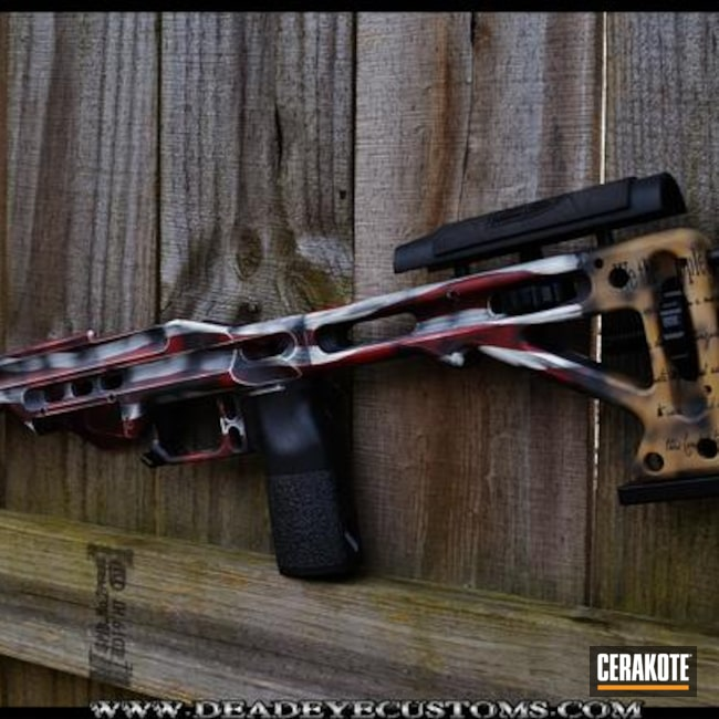 Cerakoted: Noveske Tiger Eye Brown H-187,MPA Chassis,Patriotic,NRA Blue H-171,FIREHOUSE RED H-216,Old Glory,Graphite Black H-146,USMC Red H-167,We the people,Constitution,Chocolate Brown H-258