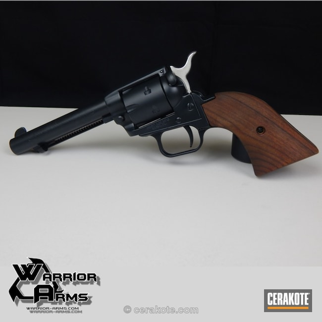 Revolver Refinished in H-109 Gloss Black