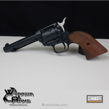 Cerakoted Revolver Refinished In H-109 Gloss Black