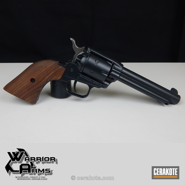 Cerakoted: Gloss Black H-109,Revolver,Black,Refinished,Warrior Arms