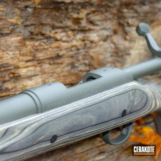 Cerakoted: Bolt Action Rifle,Cerakote Elite Series,Smoke E-120,Remington,Remington 700