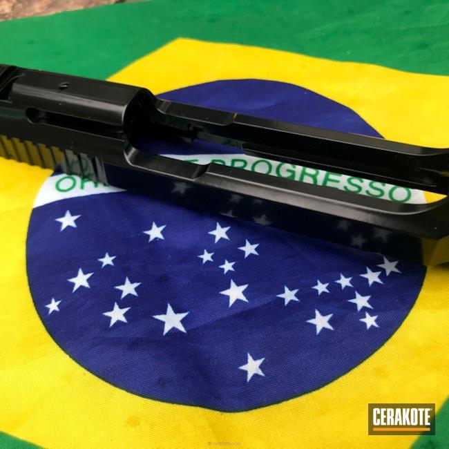 Cerakoted: Midnight E-110,Taurus PT5,Cerakote Elite Series,Solid Tone,Pistol,Cerakoteado,Taurus,Mecerako