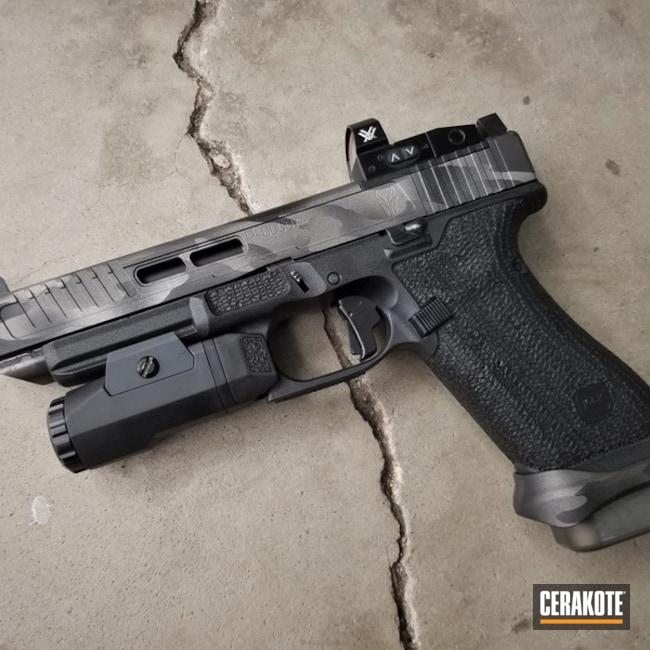 Cerakoted: MultiCam,Graphite Black H-146,SAVAGE® STAINLESS H-150,Tungsten H-237,Stippled,Pistol,Glock
