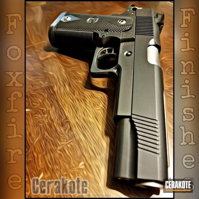 Cerakoted: Cerakote Elite Series,BLACKOUT E-100,Elite Blackout,Pistol,1911
