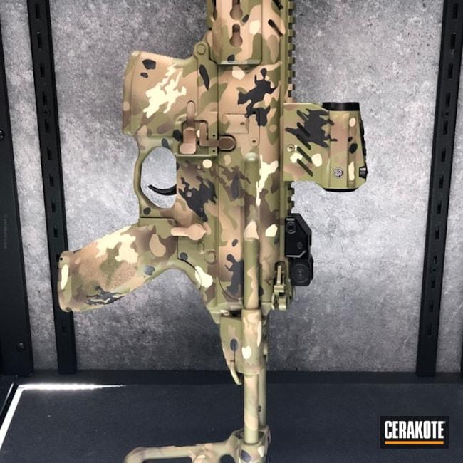 Cerakoted: MultiCam,Desert Sand H-199,Zombie Green H-168,Patriot Brown H-226,Tactical Rifle,BENELLI® SAND H-143,Noveske Bazooka Green H-189,Matte Brown H-7504M