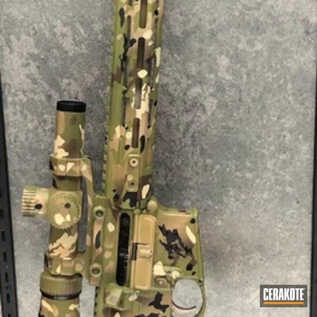 Cerakoted: MultiCam,Zombie Green H-168,Patriot Brown H-226,Tactical Rifle,BENELLI® SAND H-143,Springfield Armory,Noveske Bazooka Green H-189,Flat Dark Earth H-265,Gen II Desert Sand HIR-199