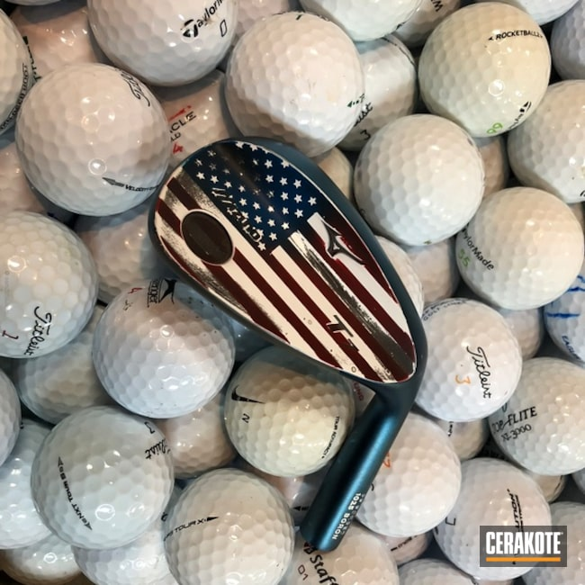 American Flag Golf Wedges