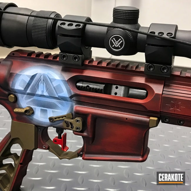 Iron Man Themed Tactical Rifle