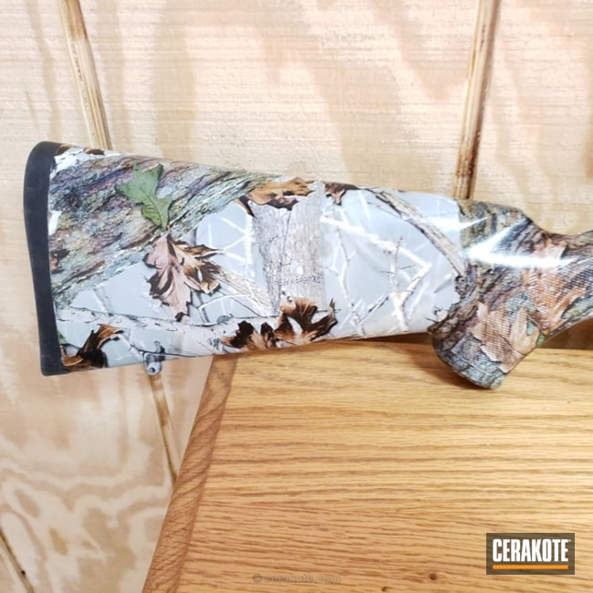 Cerakoted: Bolt Action Rifle,Hydrographics,MATTE ARMOR CLEAR H-301