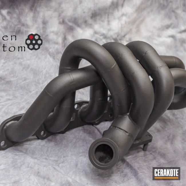 Cerakoted: Graphite Black C-102,Exhaust,More Than Guns,Automotive,High Temperature Coating,6boost