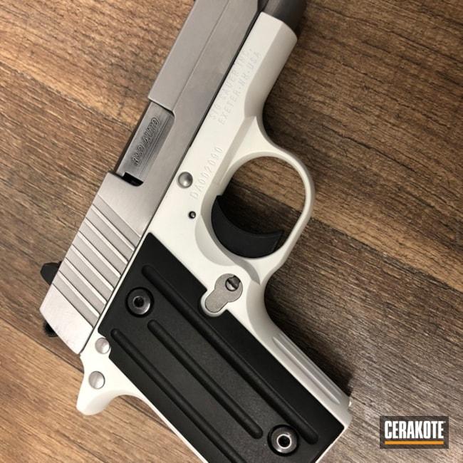 Cerakoted: Bright White H-140,Sig Sauer P238,Pistol,Sig Sauer