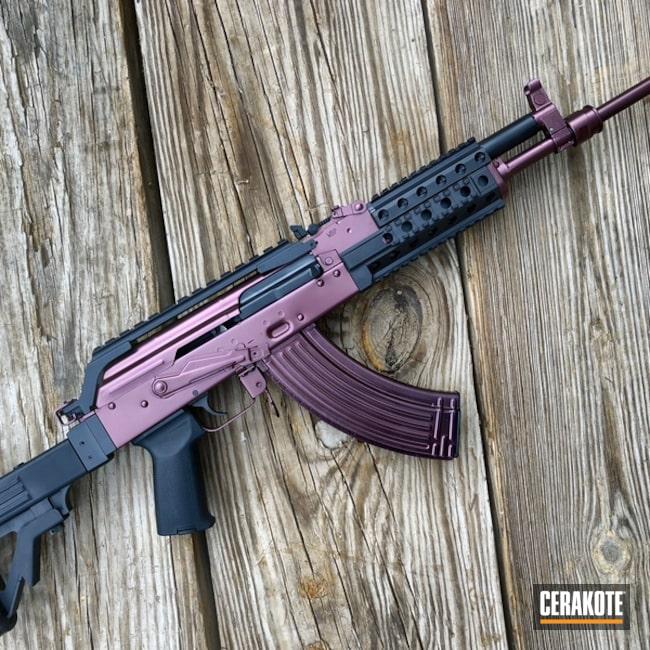 Cerakoted: Custom Mix,Graphite Black H-146,AK-47,AK Rifle