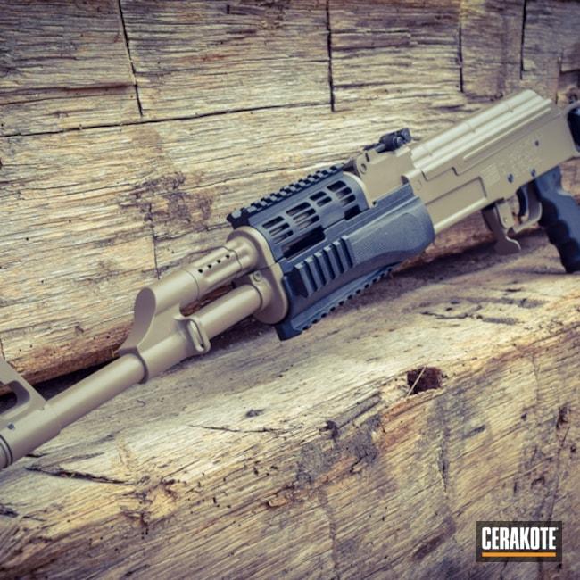 Cerakoted: MAGPUL® FLAT DARK EARTH H-267,Graphite Black H-146,Two Tone,AK-47,AK Rifle