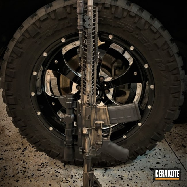 "Thumbnail image for project ""Distressed Tactical Rifle"""