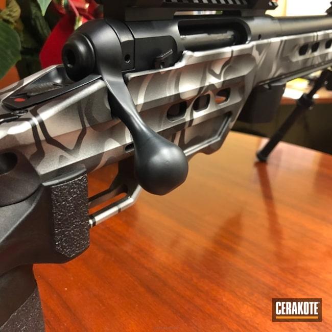 Cerakoted: Bolt Action Rifle,Kryptek,Magpul PRS,Gen II Graphite Black HIR-146,Tungsten H-237,Satin Aluminum H-151,Prs