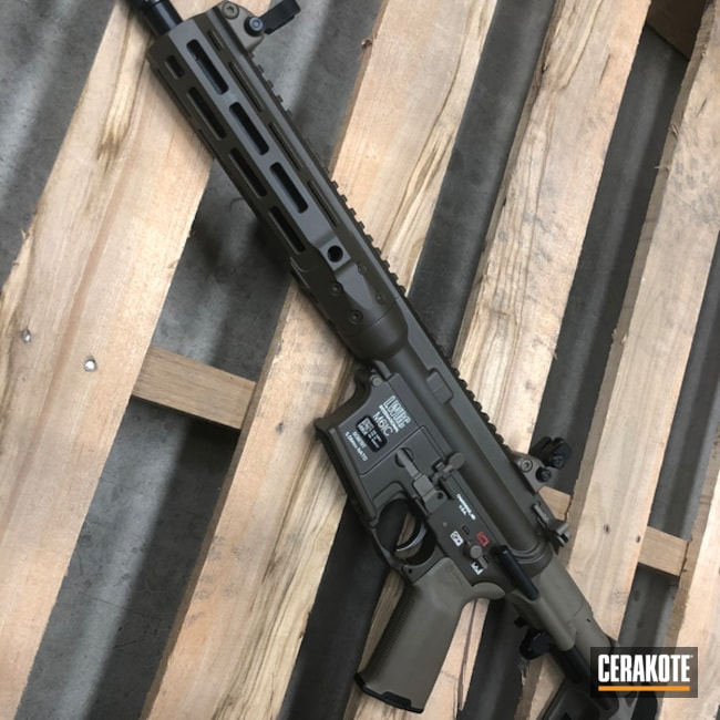 Custom Coated LWRC international Rifle