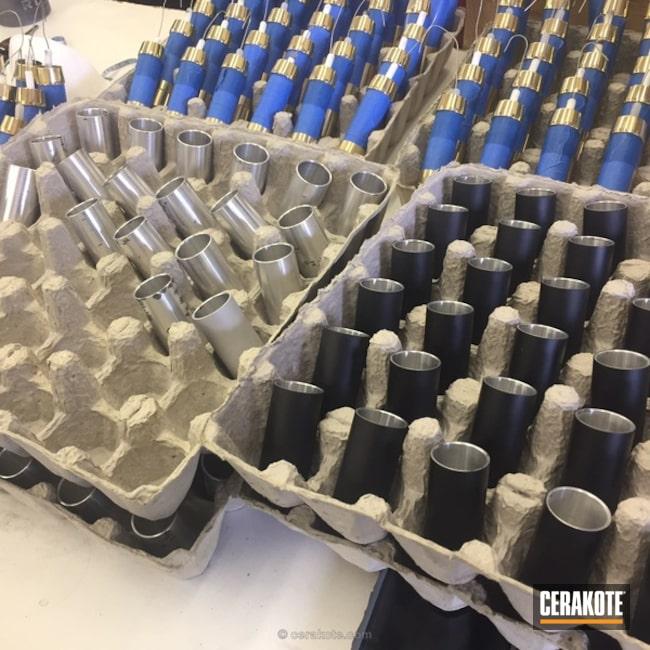 Cerakoted: Vape Mod,Graphite Black H-146,Vape,More Than Guns,Production