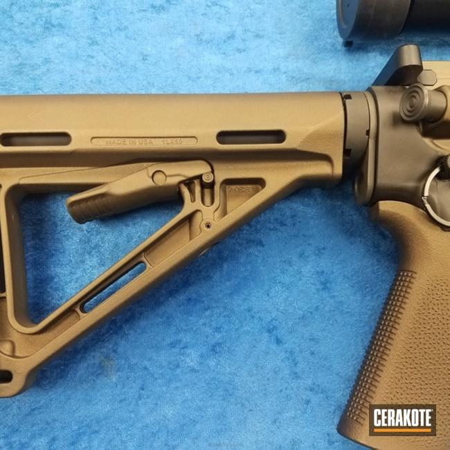 Cerakoted: Aero Precision,Receiver,Graphite Black H-146,Two Tone,Burnt Bronze H-148,Tactical Rifle,AR-15
