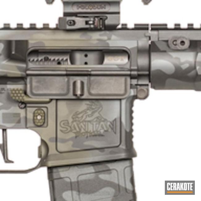 Cerakoted: Sniper Grey H-234,Graphite Black H-146,Mil Spec O.D. Green H-240,Tactical Rifle,MultiCam Black,San Tan Tactical