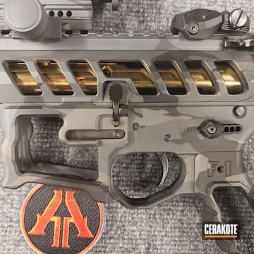 Cerakoted F1 Firearms Multicam Finish