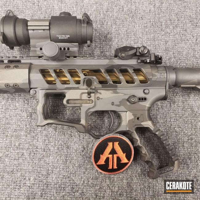 Cerakoted: Skeletonized,MultiCam,AR15 Builders Kit,Graphite Black H-146,F1 Firearms,Tungsten H-237,Fluted Barrel,Tactical Rifle,SIG™ DARK GREY H-210,Custom Camo,Gold H-122