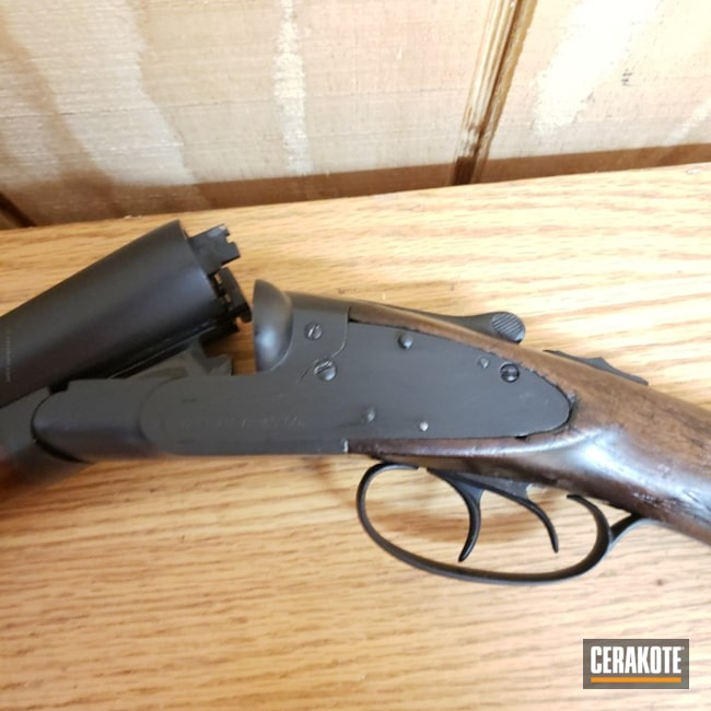 Cerakoted: Shotgun,Graphite Black H-146,Restoration