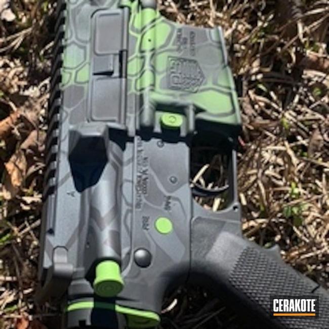 Cerakoted: Sniper Grey H-234,Kryptek,Diamondback Firearms,Graphite Black H-146,Zombie Green H-168,Tactical Rifle