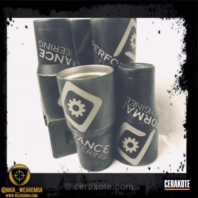 Cerakoted: Shimmer Aluminum H-158,Tumbler Cups,Graphite Black H-146,Tungsten H-237,More Than Guns