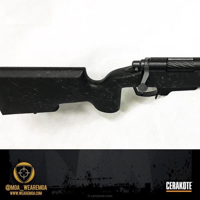 Cerakoted: Midnight Blue H-238,450 Bushmaster,Graphite Black H-146,Remington,Remington 700