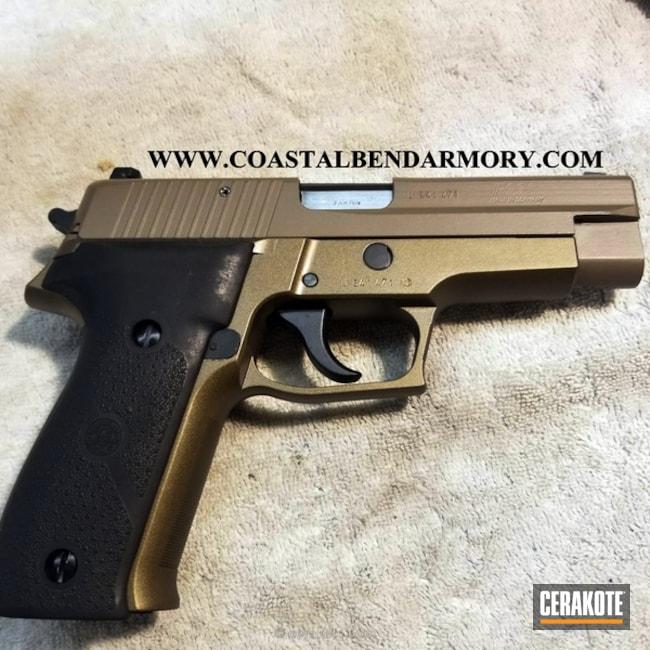 Cerakoted: MAGPUL® FLAT DARK EARTH H-267,Graphite Black H-146,Restoration,Burnt Bronze H-148,Pistol,Sig Sauer