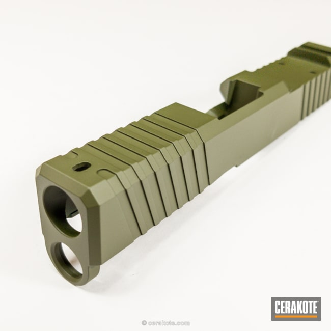 Cerakoted: Sniper Green H-229,Duty Slide