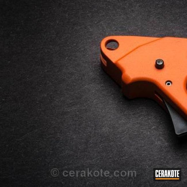 Cerakoted: Hunter Orange H-128,Apex Tactical Trigger,Pumpkin Spice,2.0
