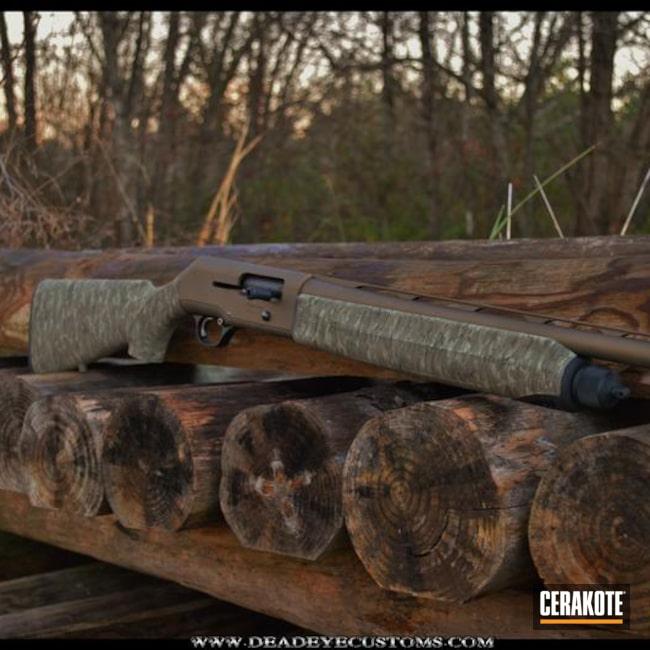 Cerakoted: Coyote Tan H-235,Bottomland,Shotgun,DESERT VERDE H-256,SIG™ DARK GREY H-210,MAGPUL® O.D. GREEN H-232,MAGPUL® FOLIAGE GREEN H-231