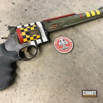 Cerakoted Custom Coated Smith & Wesson Revolver