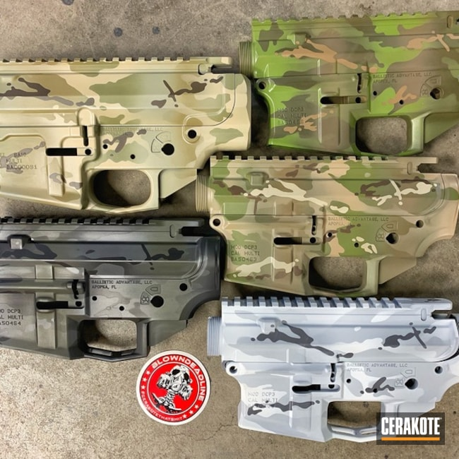 Uppers / Lowers done in MultiCam