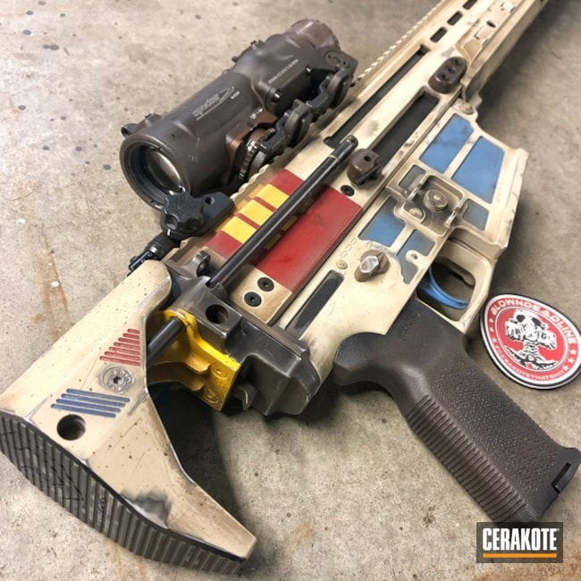 Imperial Shoretrooper Themed SCAR 17