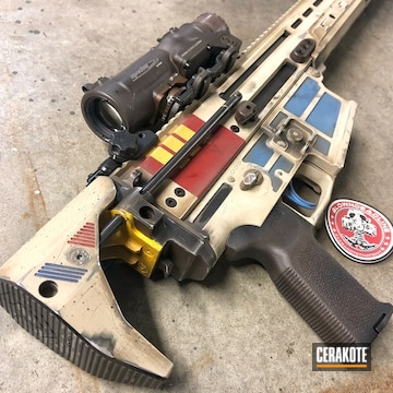 Cerakoted Imperial Shoretrooper Themed Scar 17