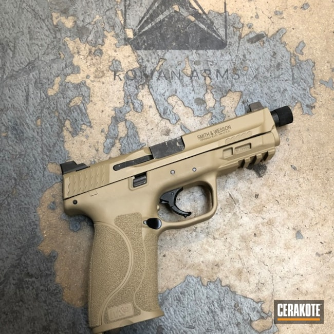 Custom Color Matched Pistol to Toyota Quicksand