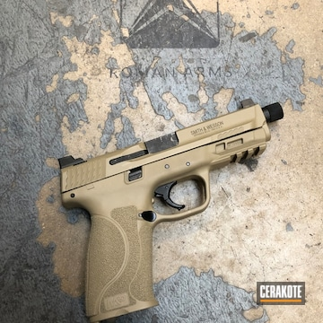 Cerakoted Custom Color Matched Pistol To Toyota Quicksand