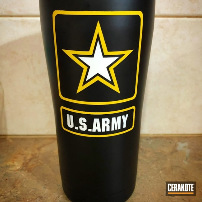 US Army Themed Tumbler Cup