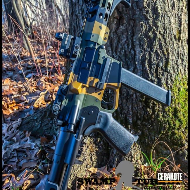 Cerakoted: Noveske Tiger Eye Brown H-187,9mm,Graphite Black H-146,MAGPUL® O.D. GREEN H-232,AR9,PCC