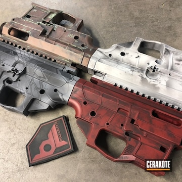 Cerakoted Battleworn Core Rifle Systems Uppers / Lowers