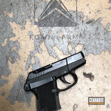 Cerakoted Kel-tec Handgun In E-110 Midnight