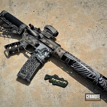 Cerakoted Distressed Jack / Skeleton Rifle Build