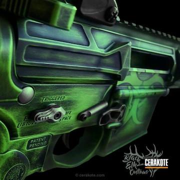 Cerakoted Custom Apocalypse Themed Ar-15
